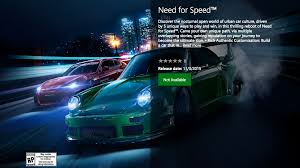 new release car gamesNeed For Speed Reboot Release Date Listed  GameSpot