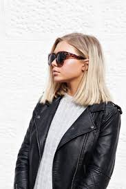 Strait Hair Style blunt cut side part mid lenght haircut beauty trend ideas for a 3001 by wearticles.com