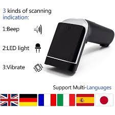 2D Barcode Scanner,Alacrity Wireless <b>USB</b> Portable <b>Bar</b> Code ...