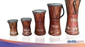 Alat musik tradisional indonesia penjelasan gambar dan namanya website pendidikan terpadu 9 alat musik tradisional jawa barat dan cara memainkannya lengkap Alat Musik Tradisional Papua Lengkap Sejarahnya