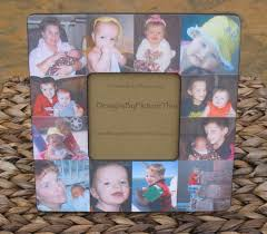 baby collage frame baby s first year collage picture frame unique custom
