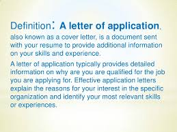 Definition For Cover Letter A Letter Of Application By Anastasia Mazenceva 1071 1