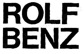 rolf benz ag. Trademark Text, ROLF BENZ - Ochranná Známka Rolf Benz Ag R