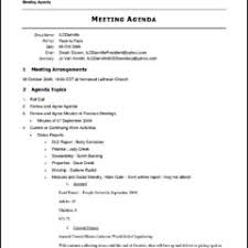 Ministry Meeting Agenda Template Exceptional Meeting Agenda Template Microsoft Word Duyudu