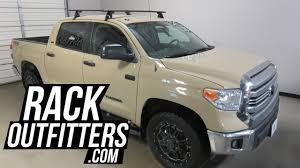 Toyota Tundra CrewMax with Yakima BaseLine Jetstream Roof Rack ...