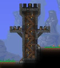 defensive tower at entrance of town