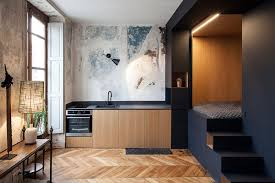 to create wholly functional and welcoming home in such a restricted space arrangement is a significant challenge that requires a bold and brave way of
