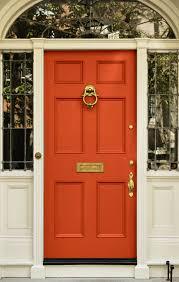 paint your door orange
