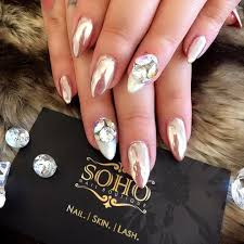 best nail salon vancouver kitsilano chrome pink best nail salon vancouver kitsilano day at the beach