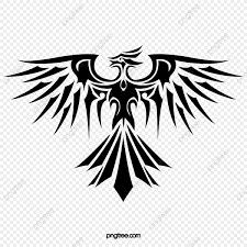 феникс татуировки татуировка узор затенение Png и Psd файл для