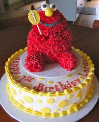 14 Vegan Red Velvet 1st Birthday Cake Wremovable Elmo Sm Flickr