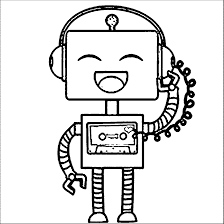 Small Picture Robot coloring pages for kids printable ColoringStar