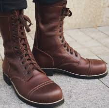 ww2 us historic replica paratrooper boot leather brown jump boots for ww2 militaria officer uniform