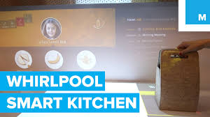 Smart Kitchen Whirlpool Smart Kitchen Has Touchscreens Everywhere Mashable Ces