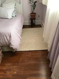 3 x 5 pottery barn teen textured wool rug natural bedroom playroom area used
