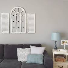 you have to see this rustic wall decor idea with a farmhouse window frame