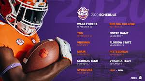 Check out this nfl schedule, sortable by date and including information on game time, network coverage, and more! Updated 2020 Football Schedule Announced Clemson Tigers Official Athletics Site