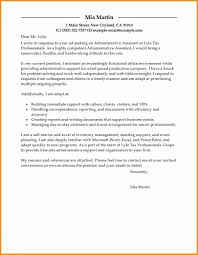 12 General Administrative Assistant Cover Letter Cote Divoire