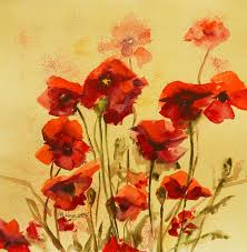 red flower wall art poppies themes sample etsy great nice gold wallpaper watercolor meadow on red poppy flower wall art with wall art design ideas red flower wall art poppies themes sample