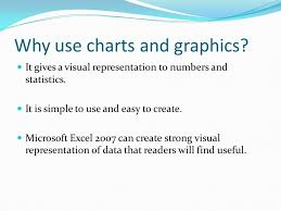Andrew Barnes February Why Use Charts And Graphics It Gives