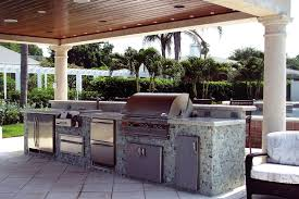 backyard kitchen construction and outdoor grill just grillin
