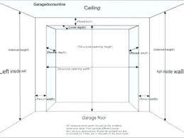 average garage door width average garage door width charming single garage door width car size ideas average garage door width