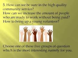 community service essay  community service essay