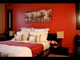 Attractive Red And Brown Bedroom Decorating Ideas