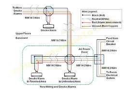 diagram how to install a hardwired smoke alarm ac power and alarm wiring smoke alarm wiring