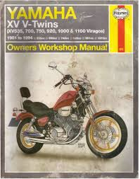 yamaha xv v twins 81 94 yamaha xv535 through 1100 owners workshop manual by alan ahlstrand and john h haynes member of