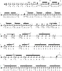Hybrid Rudiment Chart Hybrid Rudiment Chart Drum Lesson Rudiment Pdf