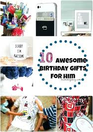 gift for 30th birthday female awesome gifts him best friend ideas