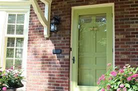 front screen doorBefore and After Easy Exterior Design Changes For Your Door