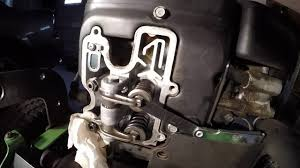 How To Check And Adjust Valve Clearances John Deere Lawn Tractor