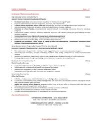 Resume cover letter for executive secretary