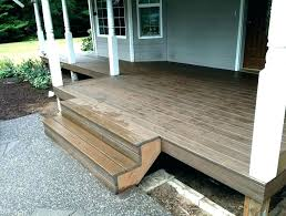 how to install composite decking over concrete porch stair treads best images about patio on deck pergola