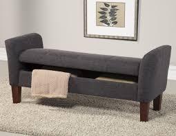 contemporary bedroom storage bench  design ideas