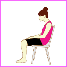 「座るとき悪い姿勢 女性  無料画像」の画像検索結果