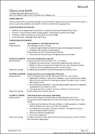 Office Manager Resume Objective Sample Office Administrator Resume New Office Manager Resume