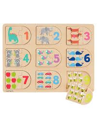 Carters Inc Counting Wood Puzzle Carters Com