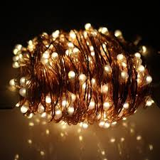 Kohree 8 Pack LED String Lights Copper Wire Lights Battery Solar Panel Fairy Lights