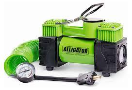 Двухпоршневой <b>компрессор</b> автомобильный <b>ALLIGATOR AL</b>-<b>500</b> ...