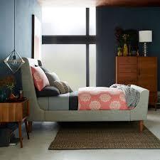 Upholstered Sleigh Bed | west elm