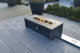 natural stone fire tables bedrock