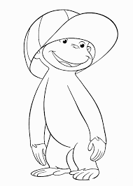 kids n fun 30 coloring pages of curious george 2037741
