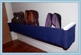 How To Make A Shoe Rack Excellent Shoe Rack Design Unique Featuring Blue Striped Pattern