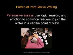 persuasive essay introduction  9 forms of persuasive writing persuasive essays
