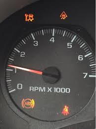 Chevy Trailblazer All Dash Lights On We Have Some Warning Lights On The Dash Of This 2007 Chevy