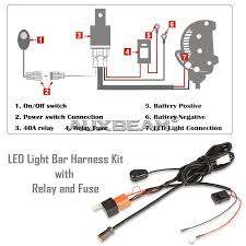 wiring diagram cree led light bar motorcycle auxbeam image auxbeam wiring harness installation auxbeam 20 126w cree combo straight 5d led light bar