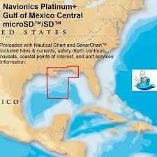 Bartons Cove Depth Chart Navionics Platinum Plus Gulf Of Mexico Central On Sd Micro